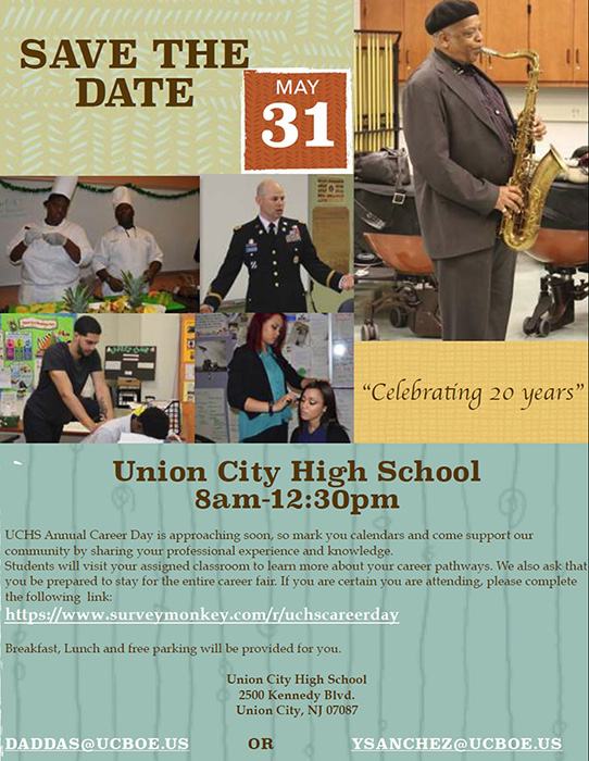 Union City NJ Career Day 2018